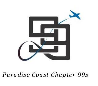 Paradise Coast Chapter 99s Logo